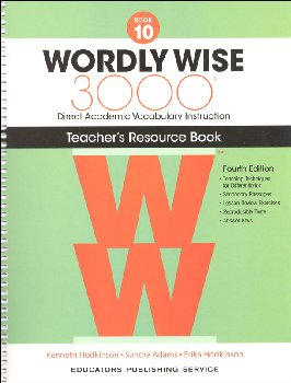 Wordly Wise 3000 4th Edition Teacher Resource Book 10