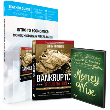 Intro to Economics: Money, History & Fiscal Faith (Curriculum Pack)