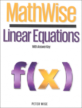 MathWise Linear Equations with Answer Key