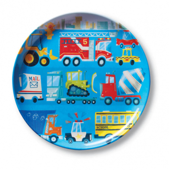 Busy City Plate