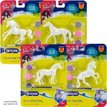 Breyer Stablemates Unicorn Paint and Play (assorted style)