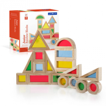 Jr. Rainbow Blocks - 20 Piece Set