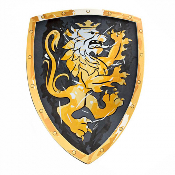 Knight Shield - Noble Knight (Black)