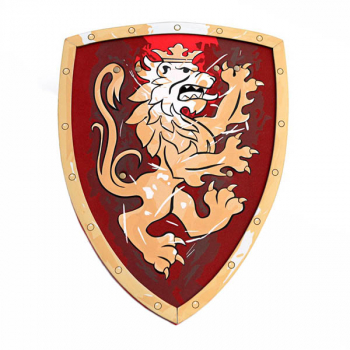 Knight Shield - Noble Knight (Red)