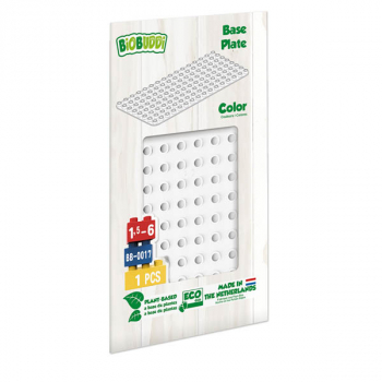 BioBuddies Educational Baseplates - White