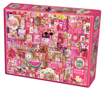 Pink Collage Jigsaw Puzzle (1000 piece)