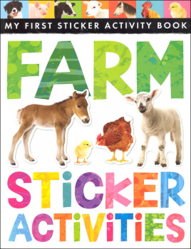 My First Sticker Activity Book: Farm