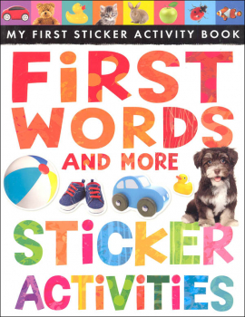 My First Sticker Activity Book: First Words and More