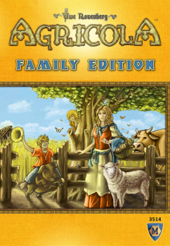 Agricola Game Family Edition