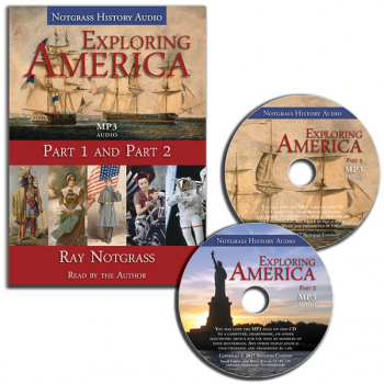 Exploring America Audio Supplement (MP3 CDs)