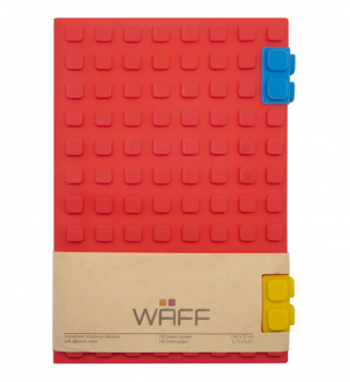Waff Journal Large - Red