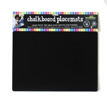 Chalkboard Placemats (Travel) Set of 4