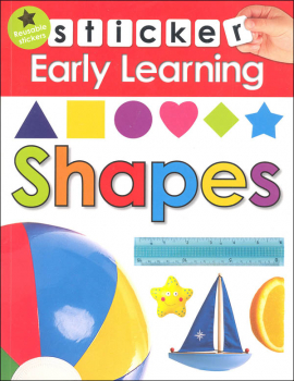 Shapes Sticker Early Learning Activity Book