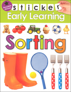 Sorting Sticker Early Learning Activity Book