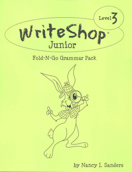 WriteShop Junior Fold-N-Go Grammar Pack - Level 3