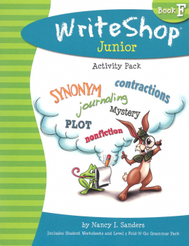 WriteShop Junior Level F Activity Pack