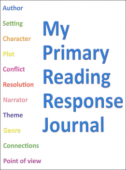 My Primary Reading Response Journal - 32 pages