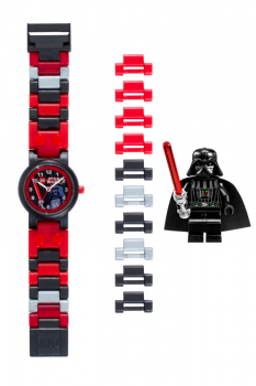 LEGO Star Wars Darth Vader Watch with Minifigure (32 pieces)