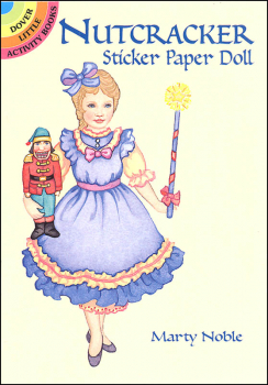 Nutcracker Sticker Paper Doll