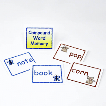 Reading Complete Compound Word Memory Game