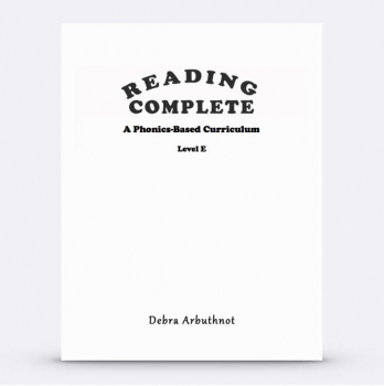 Reading Complete: Level E Student Workbook Refill Pages