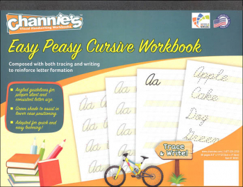 Easy Peasy Cursive Workbook (Channie's Handwriting)