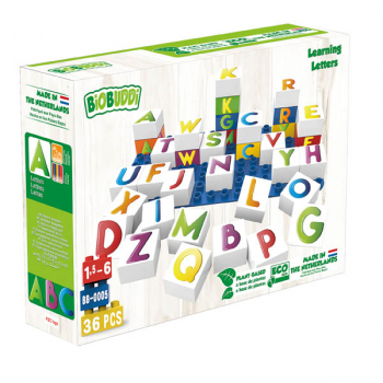 BioBuddies Letters Learning Set (36 piece)