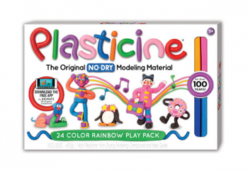 Plasticine 24-Color Rainbow Play Pack