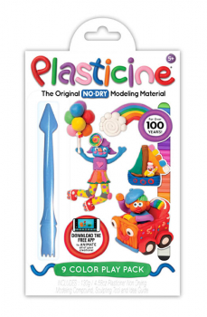 Plasticine 9-Color Play Pack