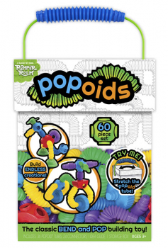 Popoids 60 Piece Deluxe Building Kit