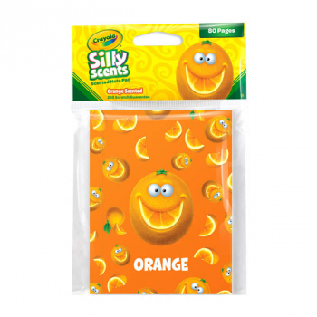 Crayola Sketch & Sniff Small Note Pad - Orange