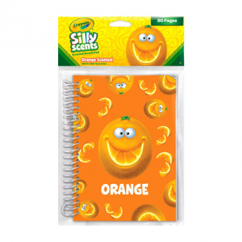 Crayola Sketch & Sniff Large Sketch Pad - Orange