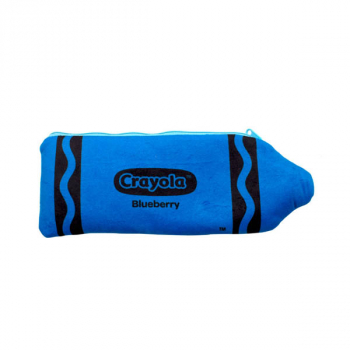 Crayola Plush Pencil Case - Blueberry