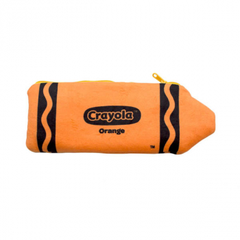 Crayola Plush Pencil Case - Orange