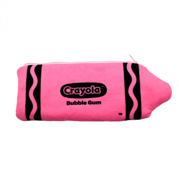 Crayola Plush Pencil Case - Bubble Gum