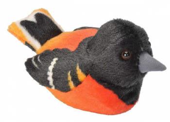 Audubon Bird: Baltimore Oriole Plush With Real Bird Call
