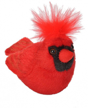 Audubon Bird: Northern Cardinal Plush With Real Bird Call