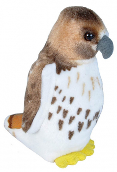 Audubon Bird: Red-Tailed Hawk Plush With Real Bird Call