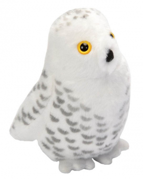 Audubon Bird: Snowy Owl Plush With Real Bird Call