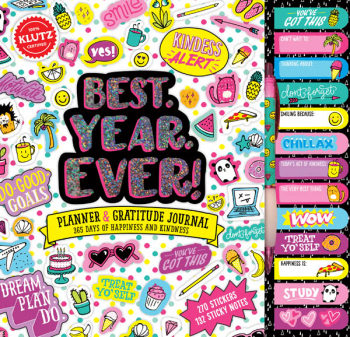 Best. Year. Ever! Planner & Gratitude Journal