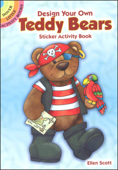 Design Your Own Teddy Bears Sticker Activity Book