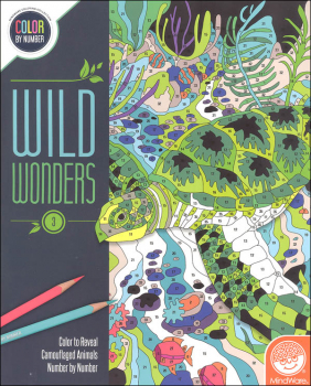 Color By Number: Wild Wonders Book 3