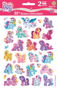 My Little Pony Pop Up Stickers (2 Sheets)