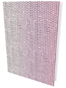 Pink & Silver Sequin Journal