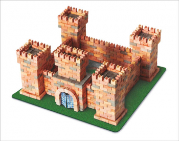 Dragon's Castle 1080 Piece Mini Bricks Construction Set