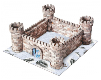 Eagle's Nest Castle 870 Piece Mini Bricks Construction Set