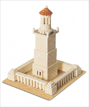 Lighthouse of Alexandria 970 Piece Mini Bricks Construction Set