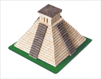 Mayan Pyramid 750 Piece Mini Bricks Construction Set