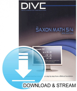 DIVE Download & Stream Saxon 5/4 3rd Edition