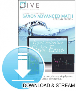 DIVE Download & Stream Saxon Advanced Math 2nd Edition